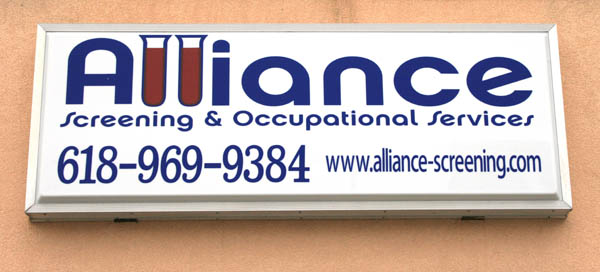 Alliance Storefront Sign